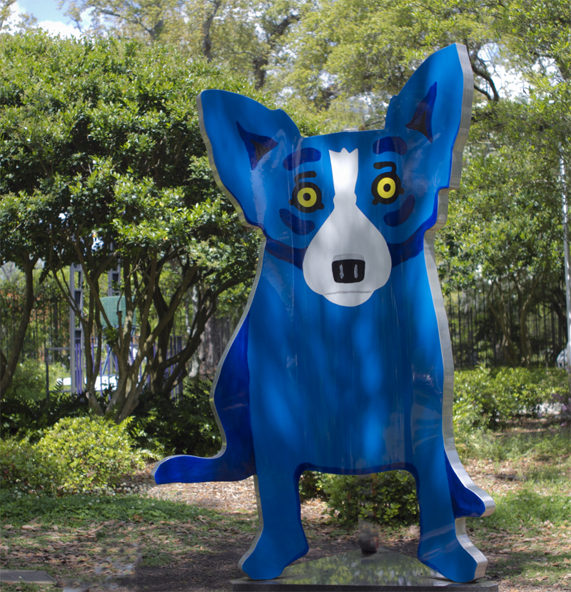 blue dog for my blog